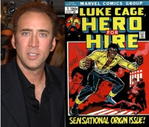 Nicolas Cage et Luke Cage