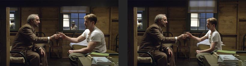Captain America - Avant/après trucage