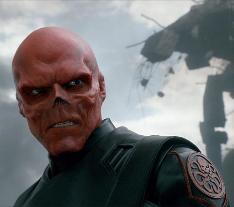 Captain America - Crâne rouge