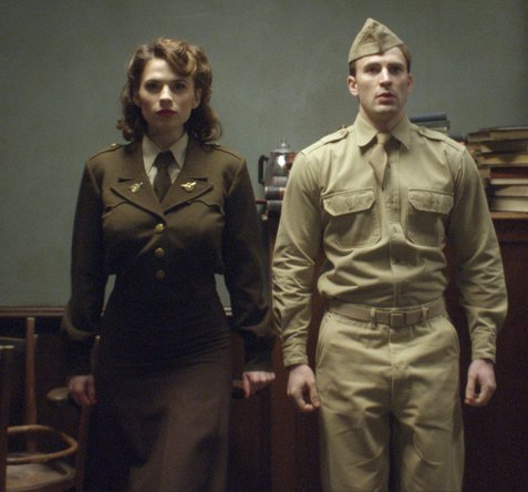 Captain America - Image avant traitement