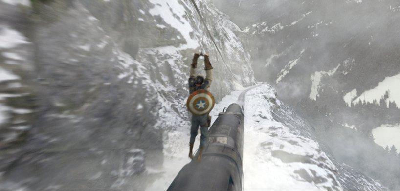 Captain America - Image après traitement