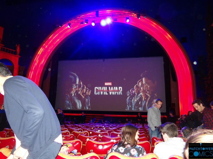 Captain America : Civil War au grand Rex