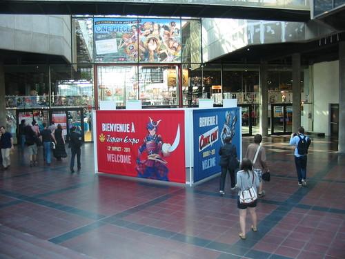 Entrée de Japan Expo
