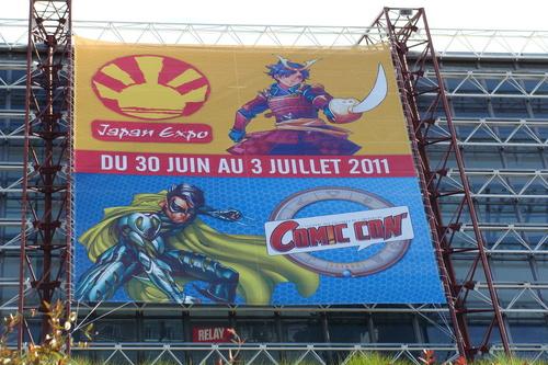 Japan Expo & Comic Con à l'extérieur