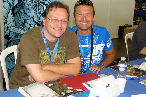 Patrice Martinez et Laurent Arthaud