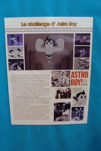 Affiche dans l'expo Tezuka