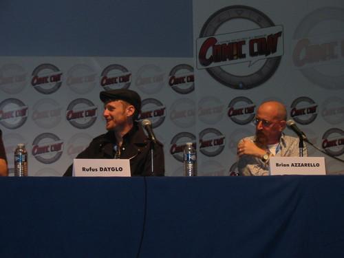 Rufus Dayglo et Brian Azzarello