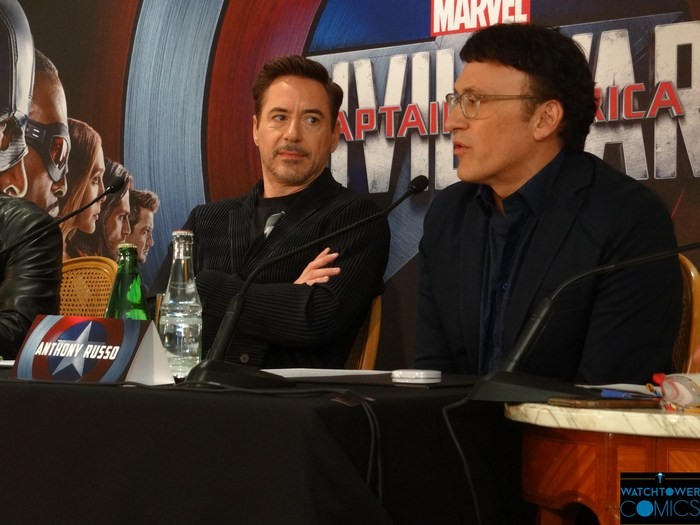 Conférence de presse Captain America : Civil War