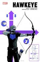 Hawkeye par Fraction / Aja / Wu