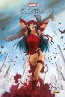 Elektra renaît à la vie Edition 20 ans Panini Comics
