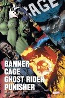 Banner / Cage / Ghost Rider / Punisher par Corben - Février 2019