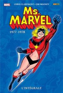 Ms Marvel L'intégrale 1977-1978 (octobre 2021)