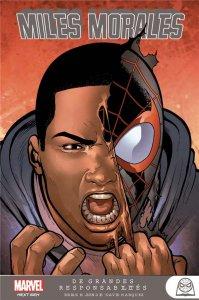 Miles Morales tome 3 : De grandes responsabilités (octobre 2021, Panini Comics)