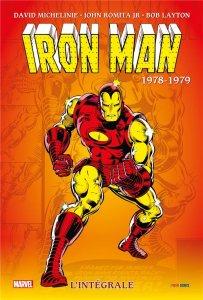 Iron Man l'intégrale 1978 - 1979 (octobre 2021)