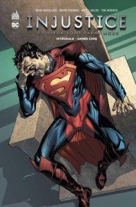 Injustice tome 5 : Les Dieux sont parmi nous Intégrale (novembre 2021, Urban Comics)