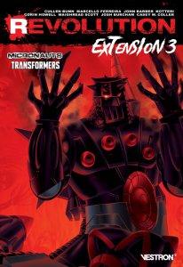Revolution extension  tome 3 : Micronauts / Transformers (novembre 2021, Vestron)