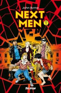 Next Men Intégrale tome 3 (novembre 2021, Delirium)
