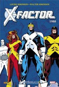 X-Factor L'intégrale 1988 (novembre 2021, Panini Comics)