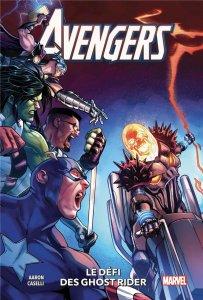 Avengers tome 5 : Le défi de Ghost rider (novembre 2021, Panini Comics)