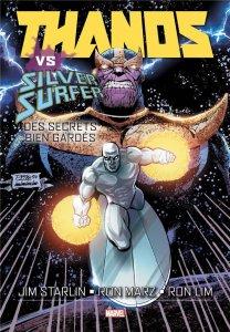 Thanos vs Silver Surfer : Des secrets bien gardés (novembre 2021, Panini Comics)