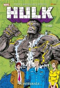 Hulk L'intégrale 1988 Nouvelle édition (novembre 2021, Panini Comics)