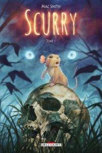 Scurry tome 1 (novembre 2021, Delcourt Comics)