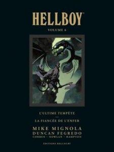 Hellboy tome 6 Deluxe (novembre 2021, Delcourt Comics)