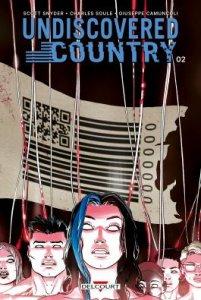 Undiscovered Country tome 2 (novembre 2021, Delcourt Comics)