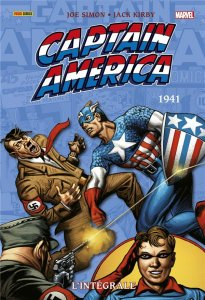 Captain America L'intégrale 1941  (juillet 2021, Panini Comics)