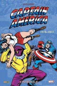 Captain America L'intégrale 1976-1977 (juillet 2021, Panini Comics)