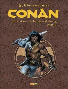 Les chroniques de Conan L'intégrale 1990 (I) (juillet 2021, Panini Comics)