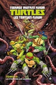 Teenage Mutant Ninja Turtles tome 14 : Le procès de Krang (juillet 2021, Hi Comics)