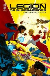 Legion of super-heroes tome 2 : Le procès de la Légion