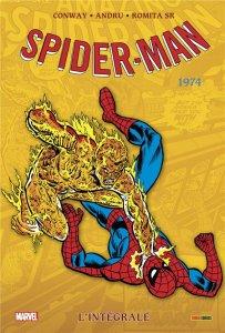Amazing Spider-Man l'intégrale 1974 Nouvelle édition (août 2021, Panini Comics)