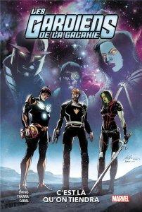 Les Gardiens de la la galaxie tome 2 : C'est là qu'on tiendra (août 2021, Panini Comics)