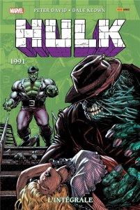Hulk l'intégrale 1991 Nouvelle édition (août 2021, Panini Comics)
