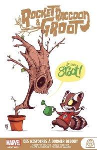 Rocket Racoon & Groot : Des histoires à dormir debout (août 2021, Panini Comics)