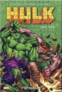 Hulk l'intégrale 1965 - 1966 (août 2021, Panini Comics)