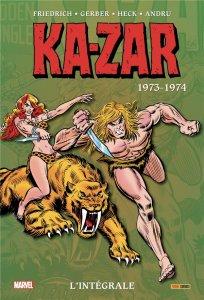 Ka-Zar L'intégrale 1973 - 1974 (septembre 2021)