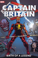 Captain Britain Birth Legend
