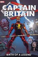 Captain Britain Birth Legend