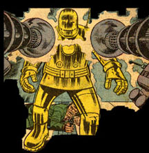 Première armure dorée