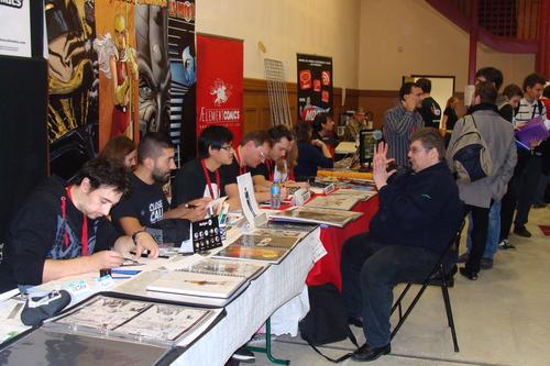 Close Call Comics & AElement Comics