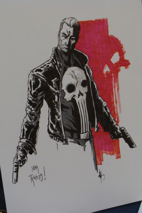 Punisher signé par Job