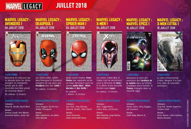 Marvel Legacy Panini