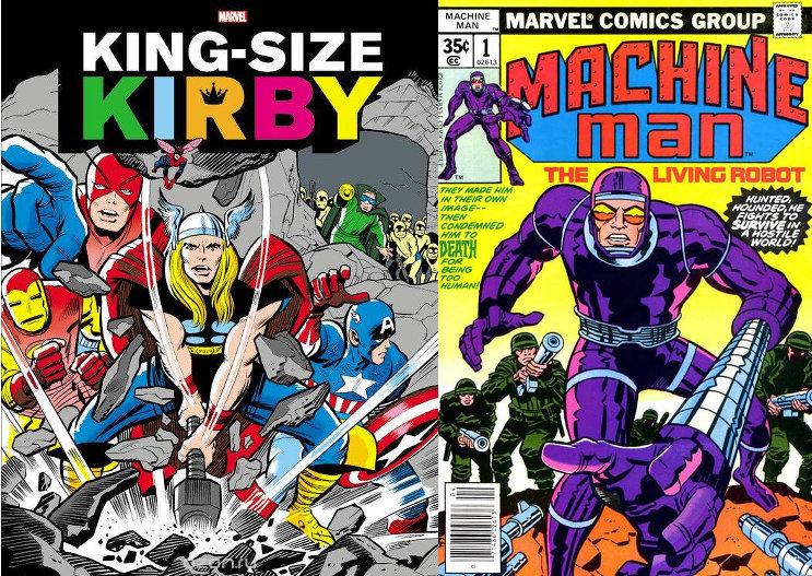 Anniversaire Jack Kirby chez Panini Comics