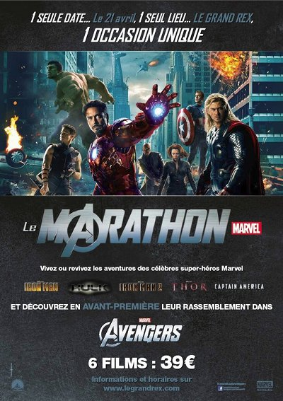 Avengers au Grand Rex