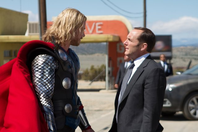 Thor et l'agent Coulson