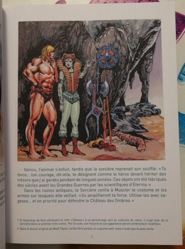 Les Maîtres de l'univers - Les premiers mini-comics