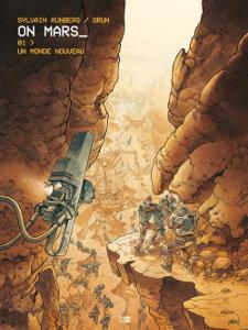 On Mars tome 1 - août 2017